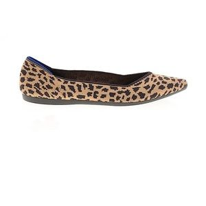 Rothy's The Point Leopard Ballet Flat Size 8